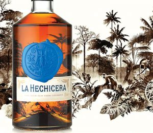 Bottle of Rum La Hechichera
