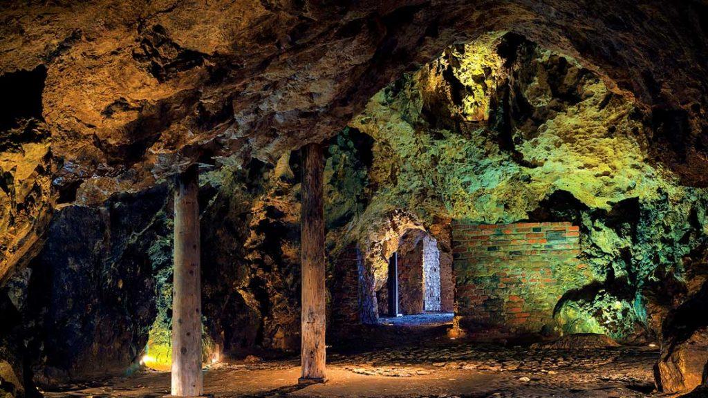Smocza Jama, considered Poland's most popular cave.