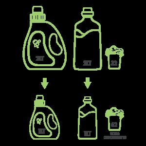 illustration detergent