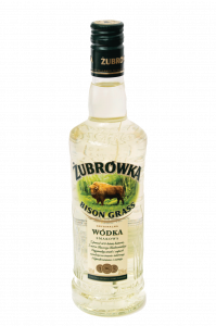 Bison Grass Vodka knows in Poland as Zubrowka. Flavoured vodka with tincture of bison grass.