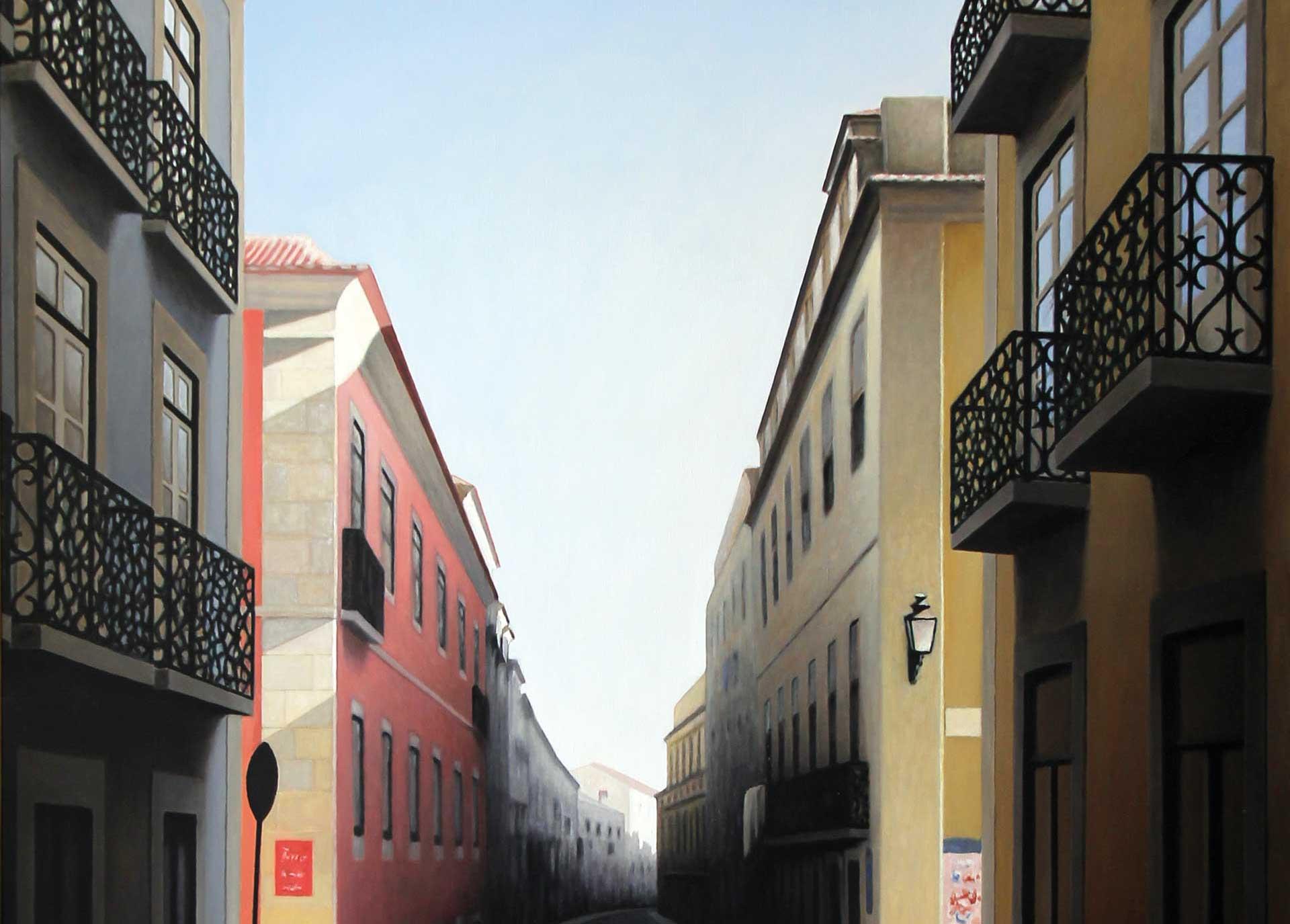 """Rua da Rosa"", by Manuel Amado"