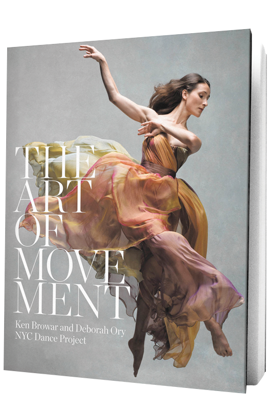 The Art of Movement book on transparent background