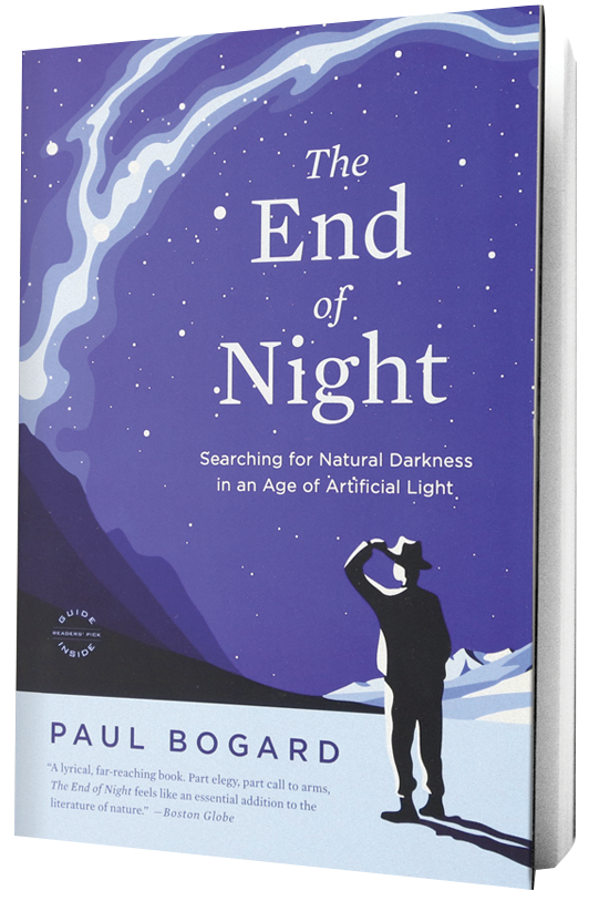The End of Night book on transparent background