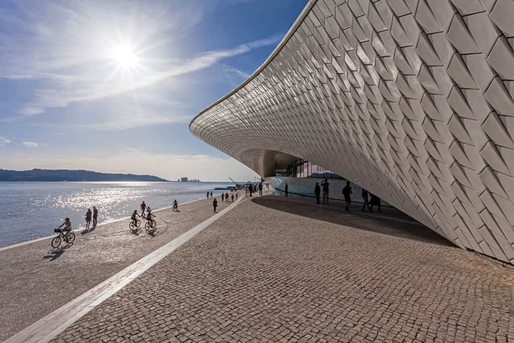 MAAT - Museum of Art, Architecture and Technology. Open since October 5th. Designed by the British architect Amanda Levete