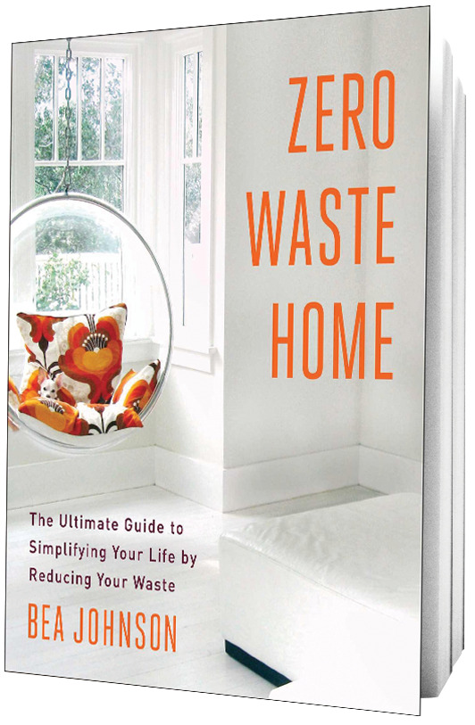 Book Zero Waste Home on transparent background