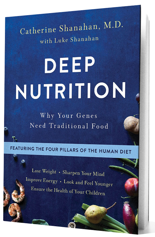 Deep Nutrition book with transparent background.