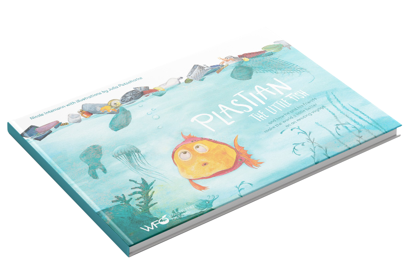Plastian book with transparent background.