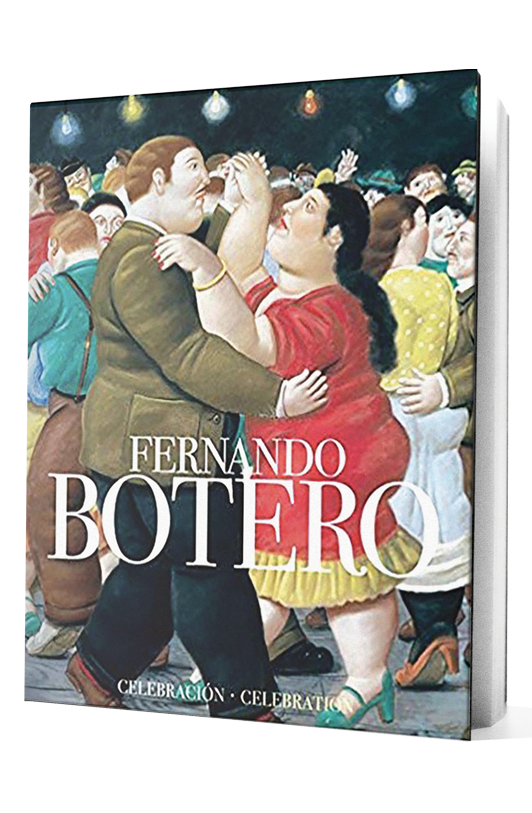Fernando Botero book on transparent background