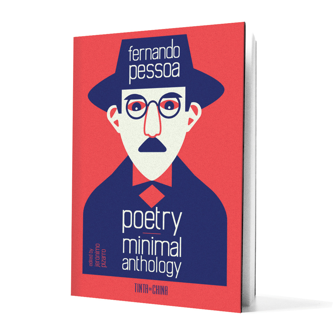 Poetry Minimal Anthology book on white background