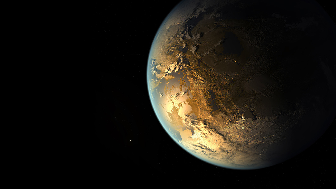Kepler-186f (also known by its Kepler Object of Interest designation KOI-571.05) is an exoplanet orbiting the red dwarf Kepler-186, about 560 light-years (171 parsecs, or nearly 5.298_1015 km) from the Earth. It is the first planet with a radius similar to Earth's to be discovered in the habitable zone of another star. 2014