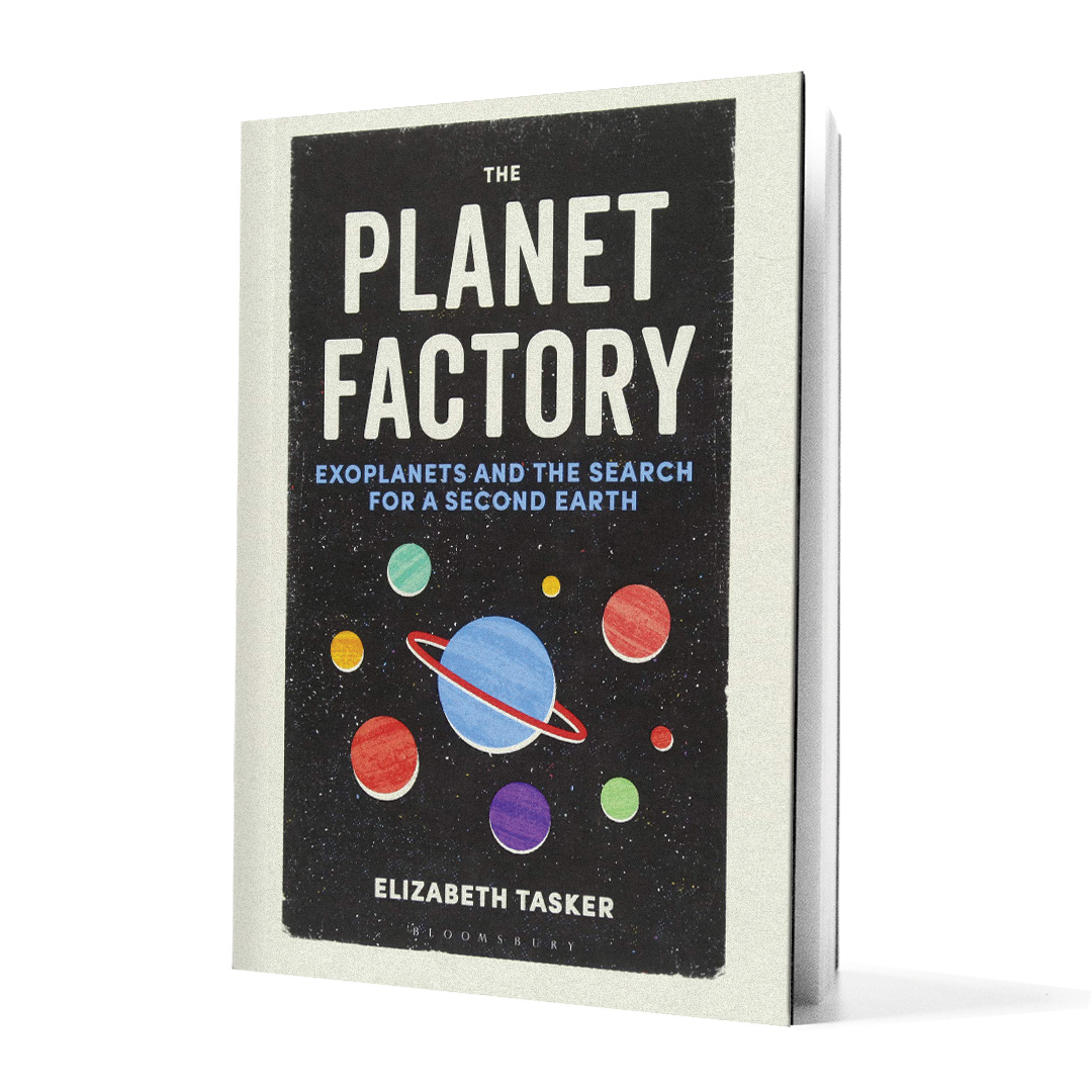 Planet Factory book on white background