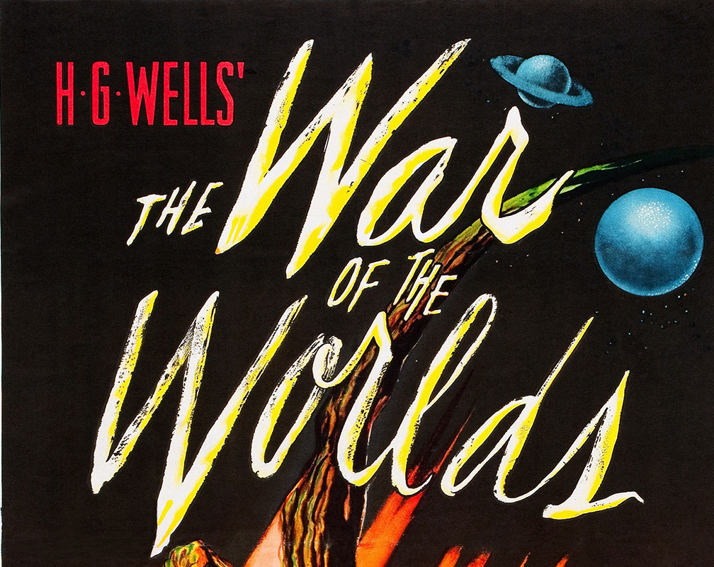 The War Of The Worlds, poster, 1953. (Photo by LMPC via Getty Images)