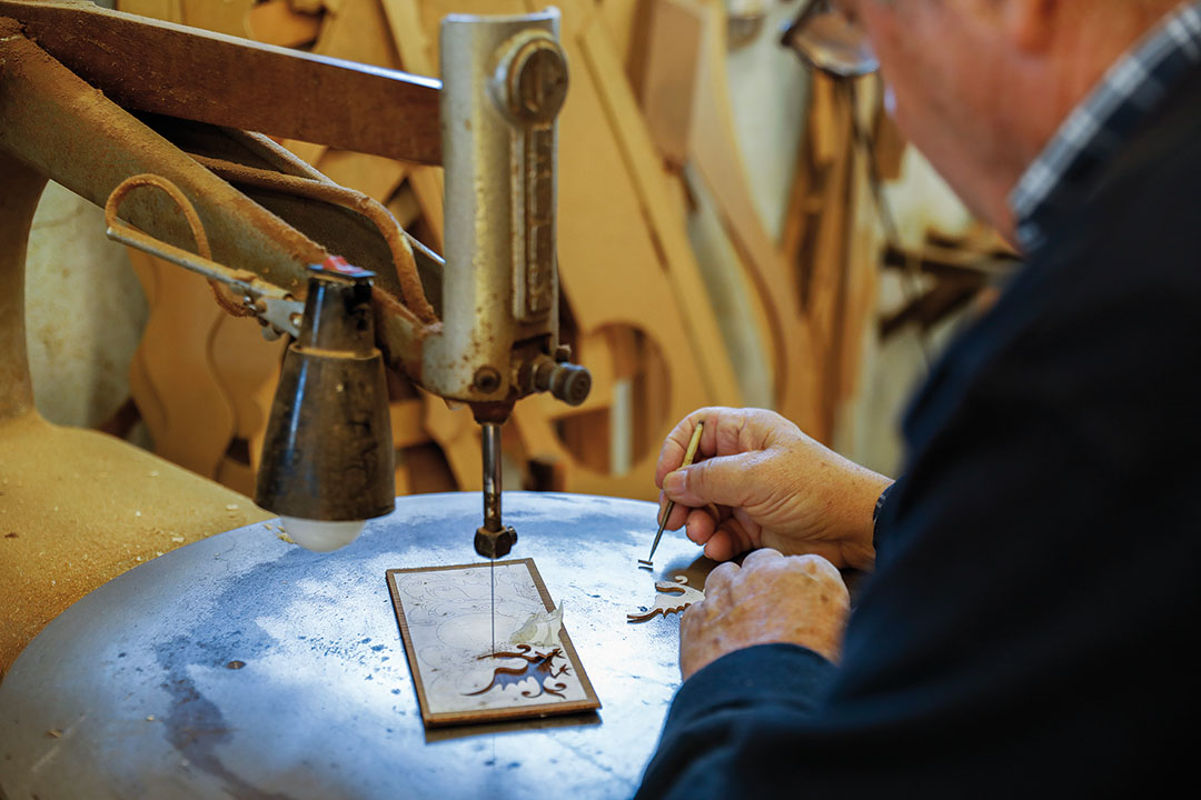 Master craftsman Firmino Adão Canhoto began his career in joinery at the age of 11 and opened his own workshop when he was 18 years old.