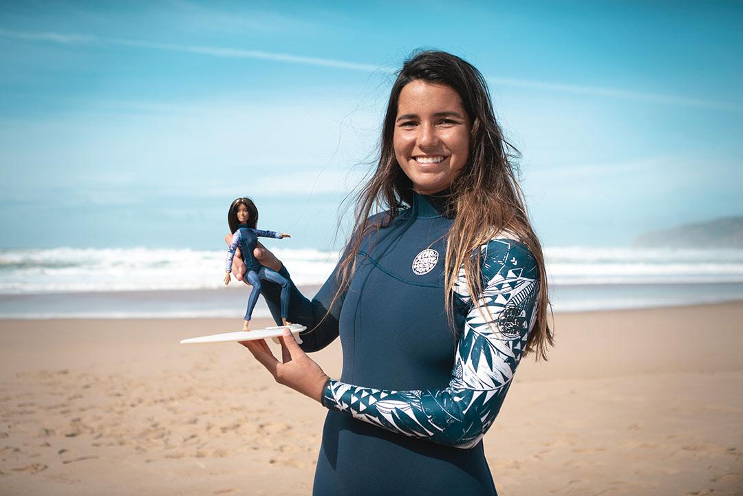 BARBIE™ ANNOUNCES NEW 2020 SPORTS ROLE MODELS - Teresa Bonvalot (Portugal) European Junior Surfing champion. Embargo: 18:00 GMT Tuesday 3rd March